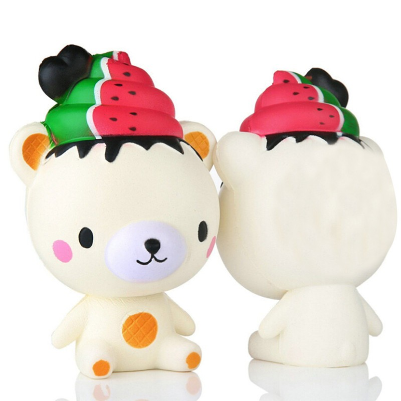 14cm snowman girl Squishy Slow Rising Jumbo Stretch Squishies Toys Kids Adults Stress Relief | Shopee Indonesia