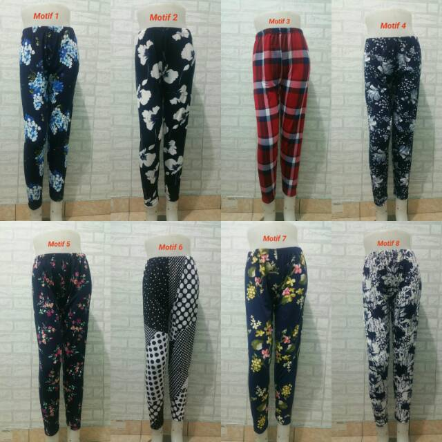 Legging Motif Dewasa All Size Live Streaming Shopee Indonesia