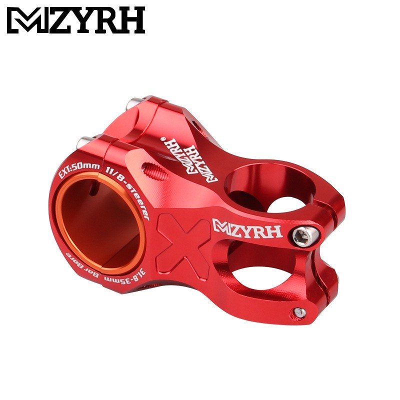Ultra-light Hollow MTB Mountain Bike XC AM Off-road Bicycle Stem 28.6*31.8*50MM