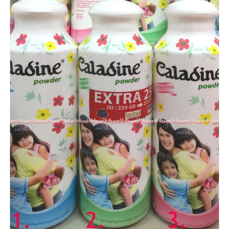 Caladine Powder Active Fresh 220gr /Bedak Caladine 220 gr [MISS KECE] | Shopee Indonesia