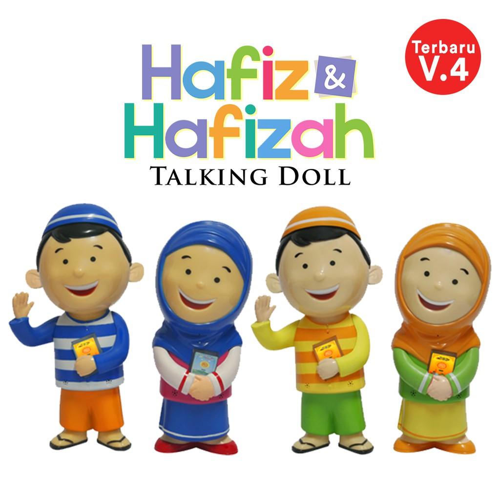 Hafiz Talking Doll Versi 4 Mainan Edukasi Anak Sholeh Sholehah