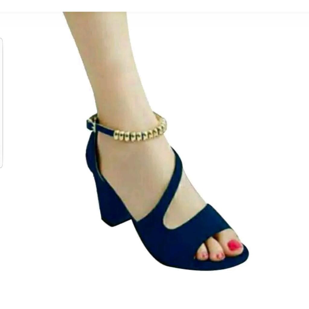 Belanja Online Wedges Sepatu Wanita Shopee Indonesia Moca Tali