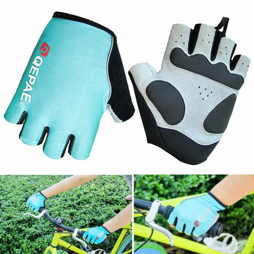 QEPAE Road MTB Mountain Bike Bicycle full Finger Glove Cycling Tactical Gloves