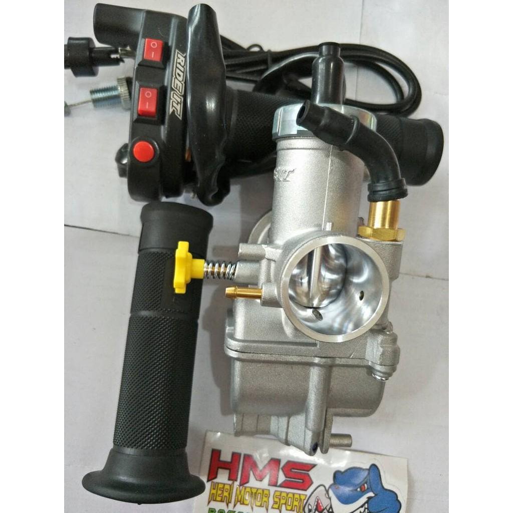 Paket Murah Karburator Pe24 Scarlet Gas Spontan Bungbon Tombol Polos Shopee Indonesia