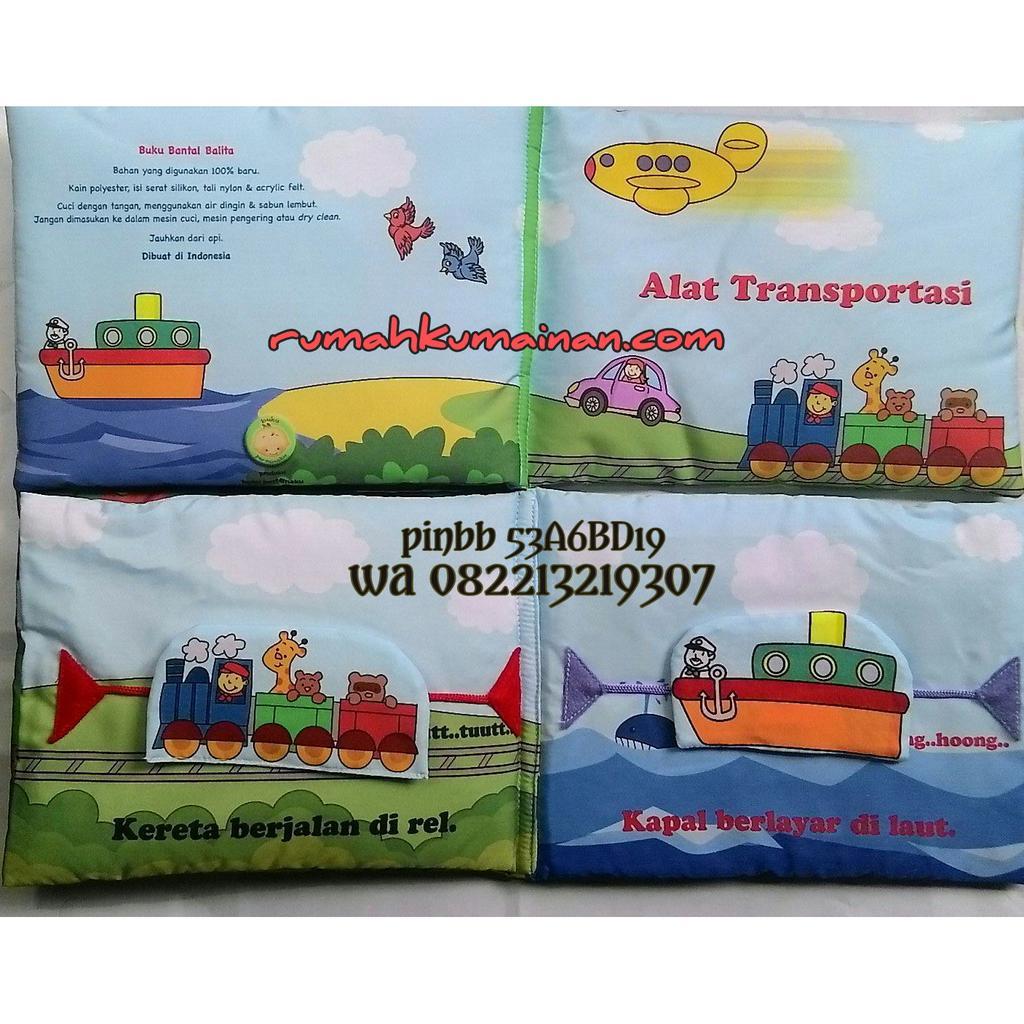 Soft Book Buku Bantal Mengenal Abjad Shopee Indonesia Anak Binatang Apakah Aku