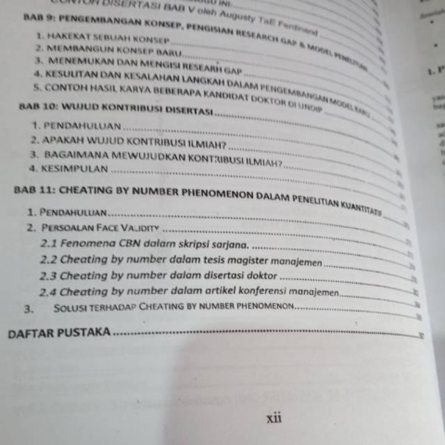 Buku Metode Penelitian Manajemen Edisi 5 By Augusty Ferdinand
