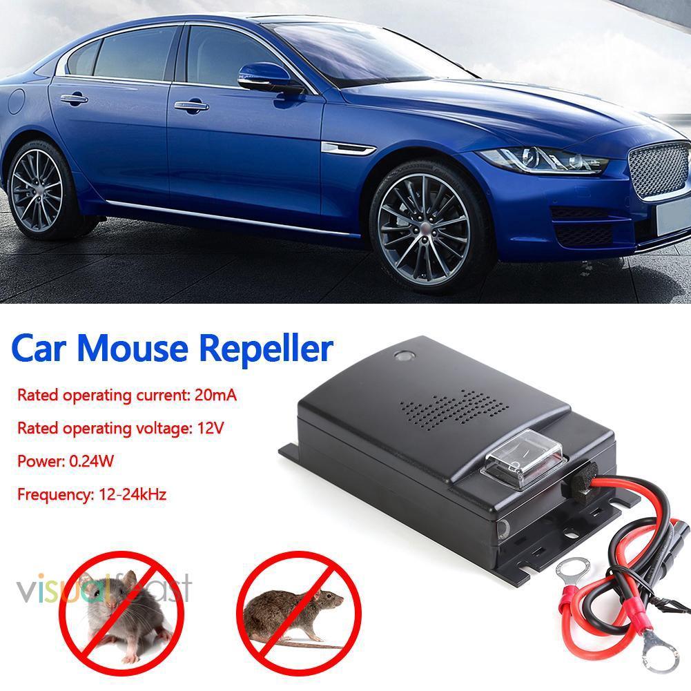Alat Pengusir Tikus Elektrik 12v Untuk Mobil Shopee Indonesia