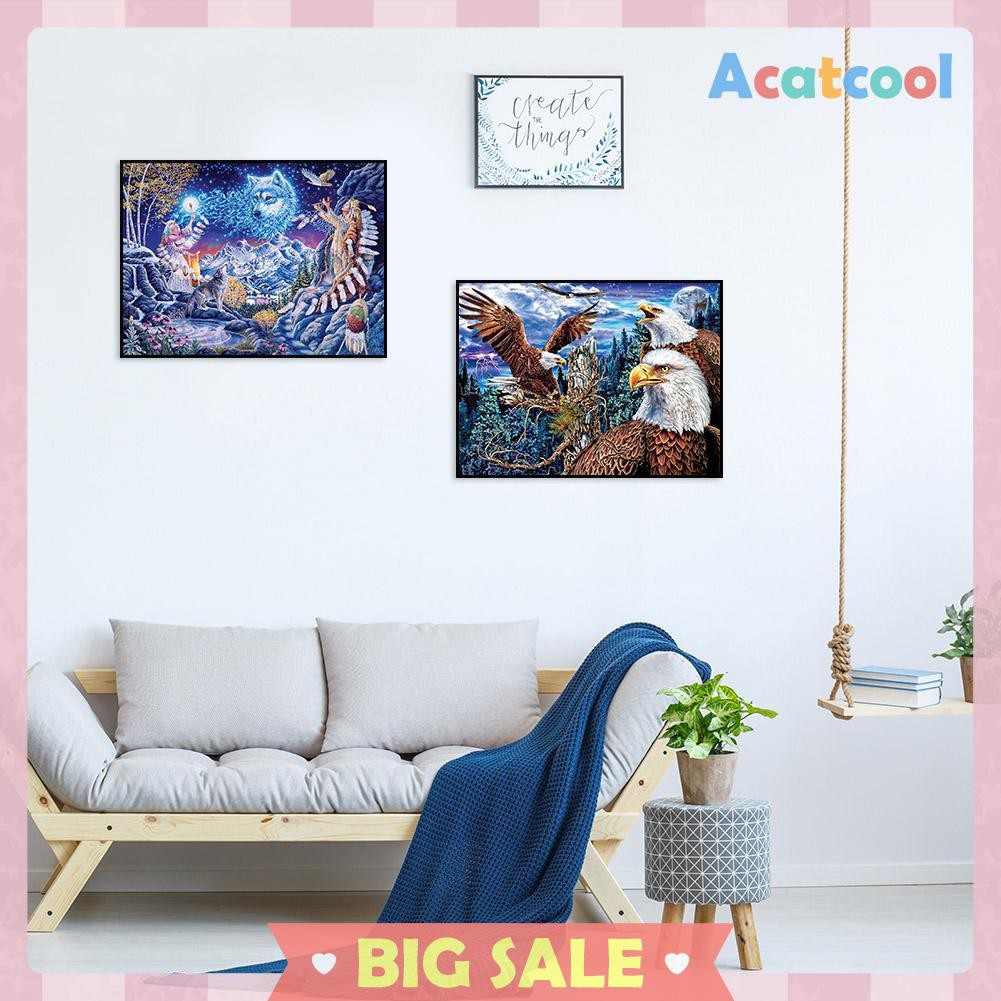 Colorful Oil Patinting DIY Digital Painting By Number Painted Decor Set A8O6
