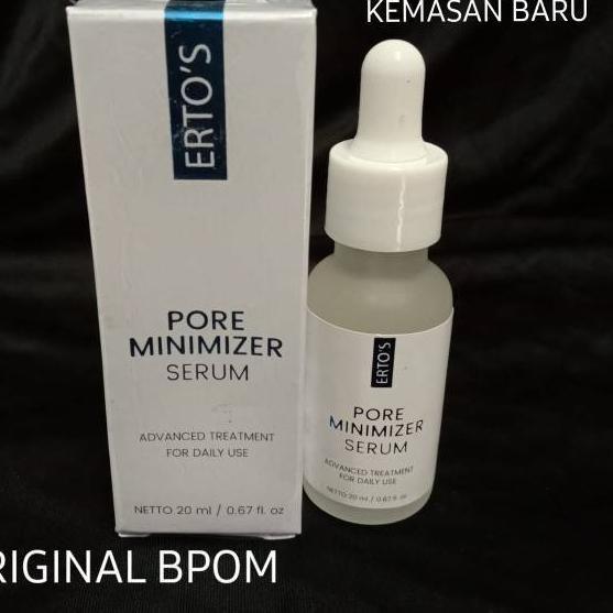 Super Promo Ertos Pore Minimizer Serum Pengecil Pori Asli
