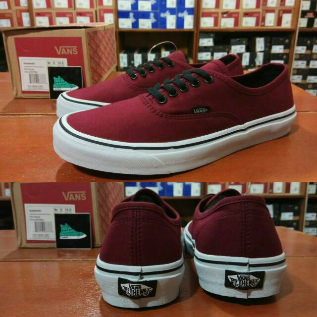Sepatu Vans Authentic Calssic Basic Black Hitam Sol Gum - Original Premium Waffle  ICC DT BNIB China  f8daf5c21