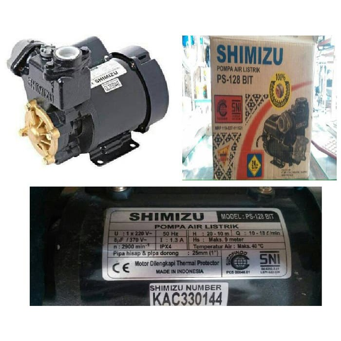 Pompa air listrik shimizu ps-128 bitcoins st leger betting preview nfl