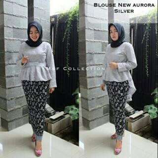 Kebaya Modern 2018 2019 Wisuda Hijab Remaja Lamaran Nikahan Tunangan Resepsi Terbaru Brokat Pinkan
