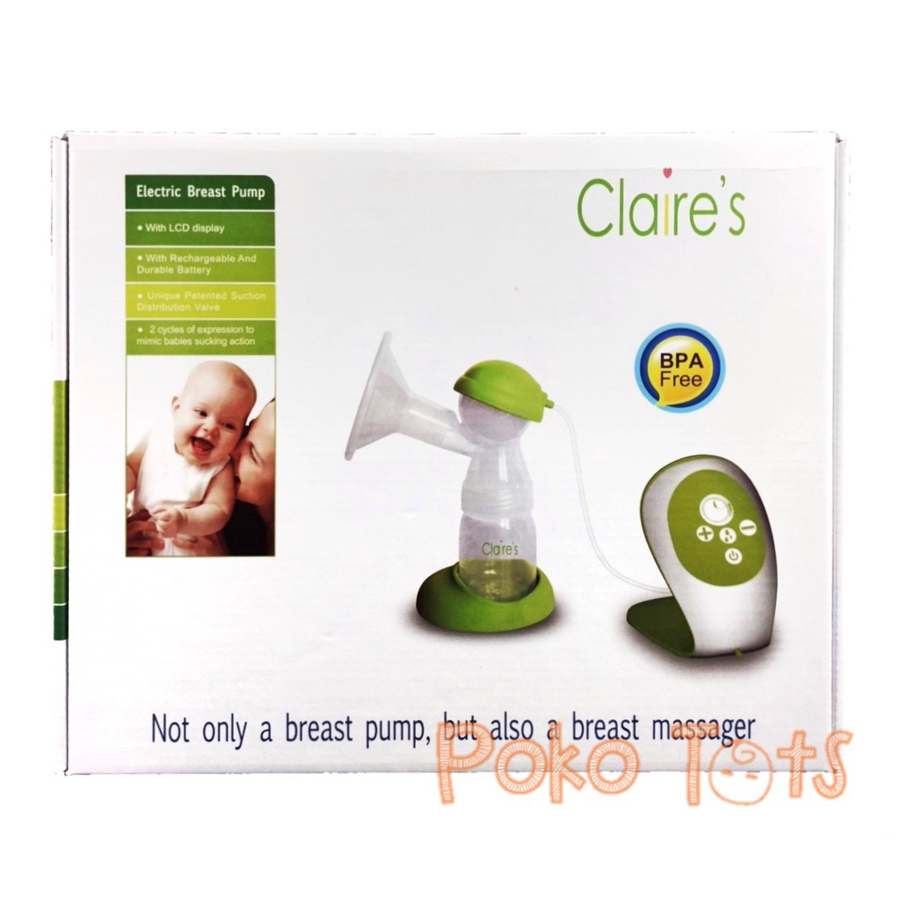 Claire's Electric Breast Pump Single Electric BP-A20 Pompa ASI Elektrik Claire GBP A20 | Shopee Indonesia