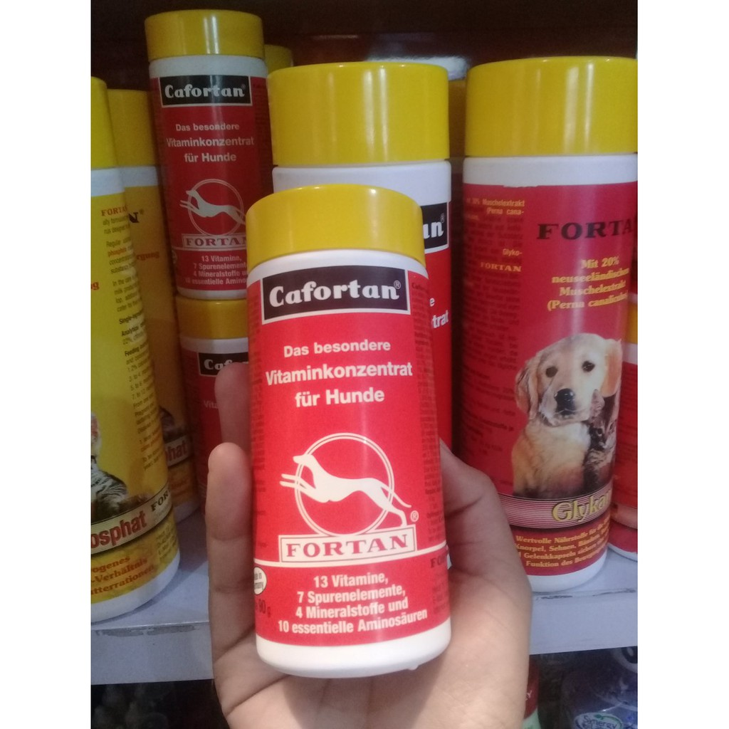 Fortan Catfortan 90gr multi vitamin kucing isi 180tablet | Shopee Indonesia