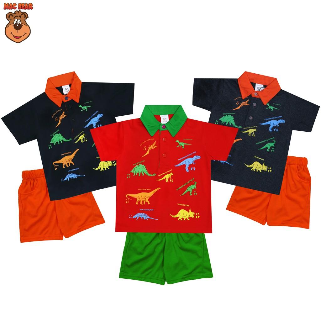 Macbear Kids Baju Anak Setelan Patrick Star Shopee Indonesia Sweater 3 Animals Pocket Size Merah