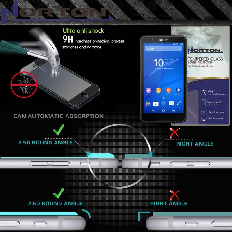 Xiaomi Mi4i Mi 4i / Mi4c Mi 4c Anti Gores Norton Tempered Glass Murah | Shopee Indonesia