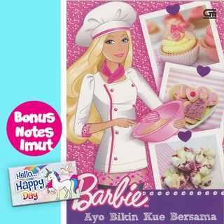 Barbie Ayo Bikin Kue Bersama Shopee Indonesia