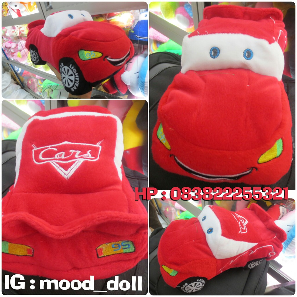 Boneka Kartun&bioskop The Cars Grade Super ORI SNI Murmer Lucu Gemesin