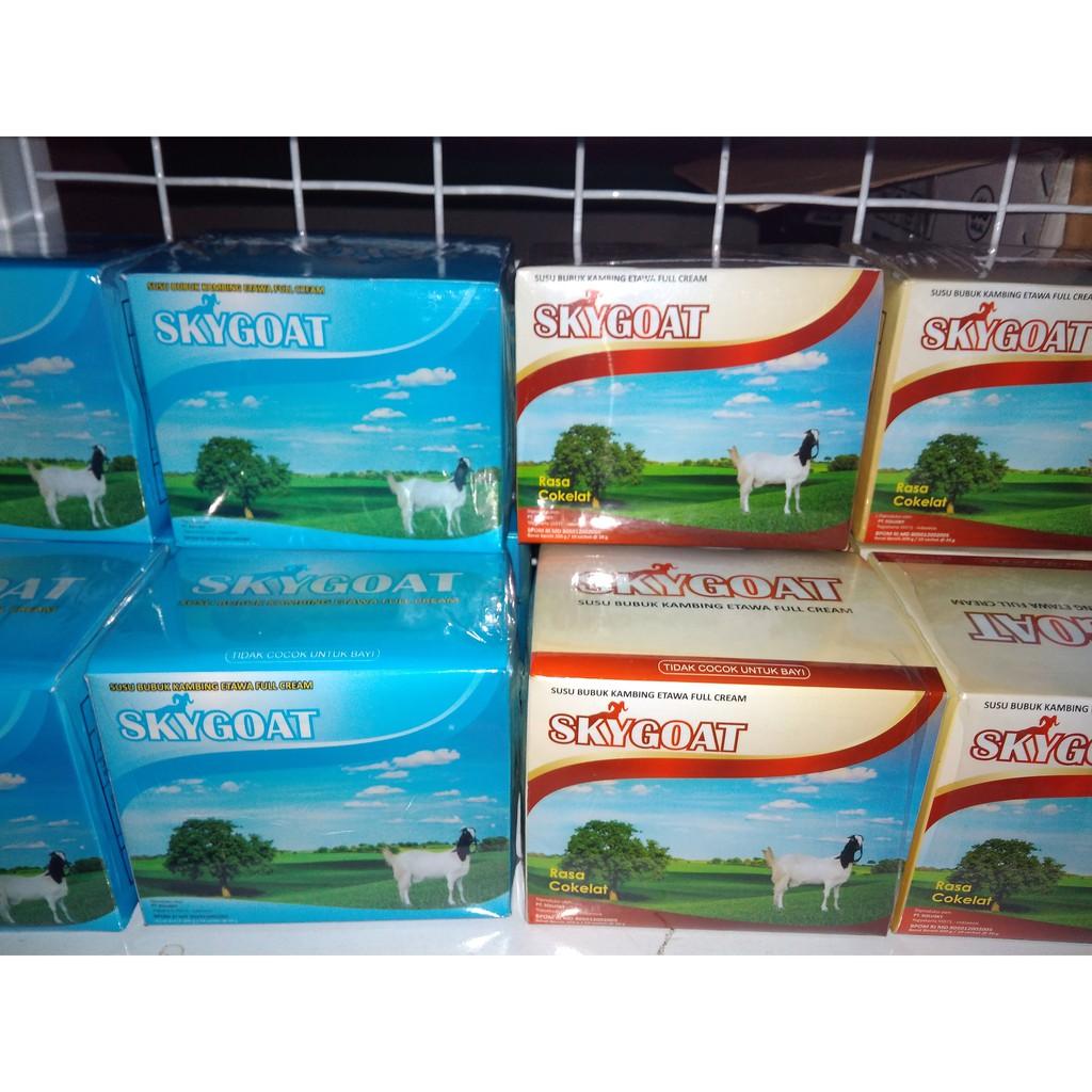 Skygoat Susu Bubuk Kambing Etawa Full Cream Shopee Indonesia