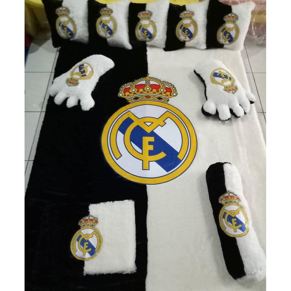 Fullset Karpet Rasfur Karakter Real Madrid