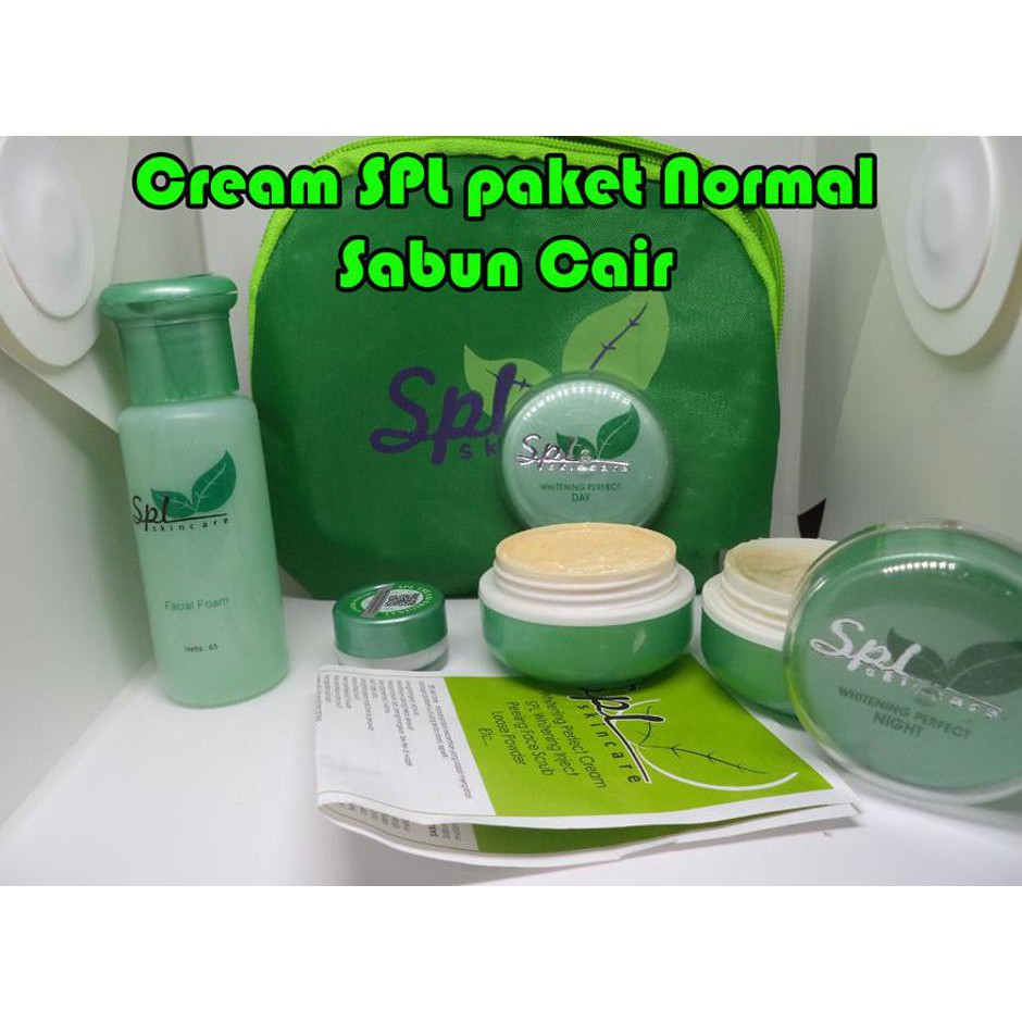 Cream Spl Paket Acne Krim Sabun Cair Original Shopee Indonesia