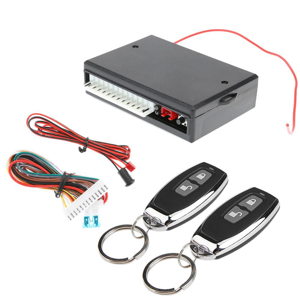 Vehicle Remote Central Door Lock Locking Keyless Entry System Remote Controllers