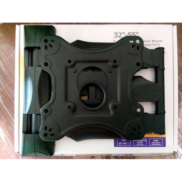 BREKET/BRACKET TV LCD/LED/PLASMA 32-47 INCI NORTH BAYOU (SWIVEL) MURAH