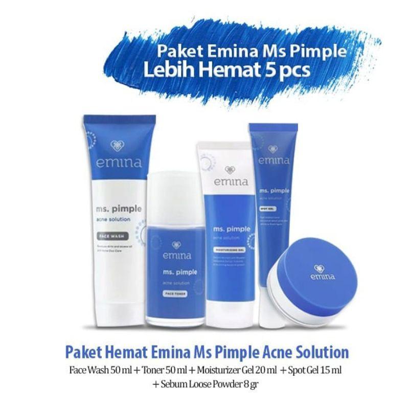 Emina Paket Ms. pimple Acne Solution 5in1