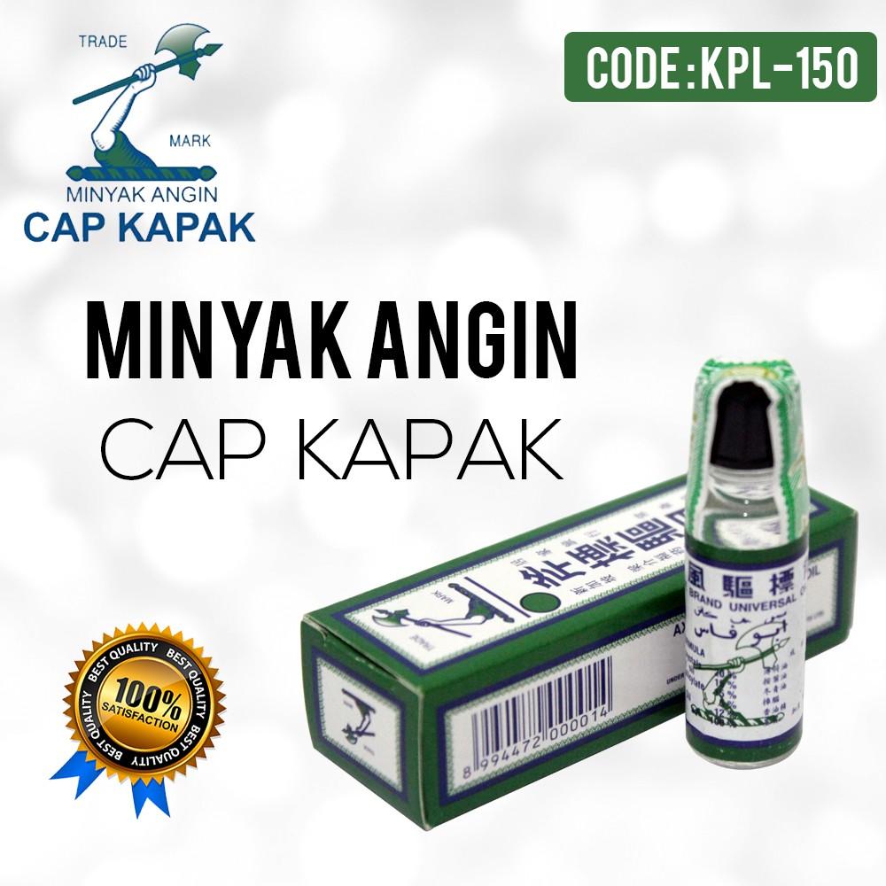 Minyak Angin Cap Kapak 3ml Kpl 150 Shopee Indonesia Wax Vac Ear Vacuum Waxvac Pembersih Telinga Wvc Gentle And Effective Cleaner Elt 22