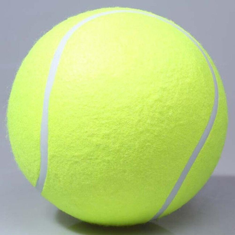 """9.5/"""" dog big tennis ball giant pet toy for chewing training supply"""