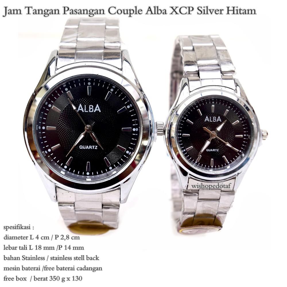 Jam Tangan Couple Original Q Q QQ QnQ QZ00J202Y   QZ01J202Y Black Dial  293c285b7d