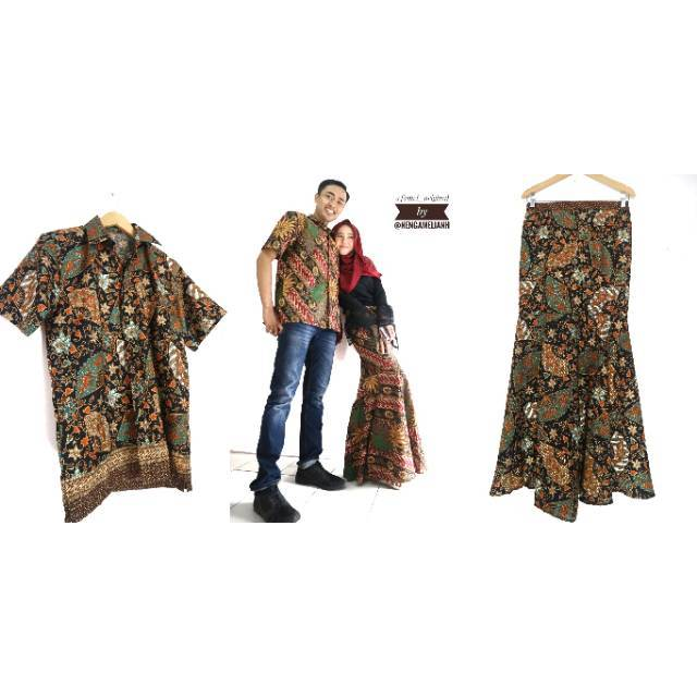 Fobc Batik Couple Batik Kondangan Baju Couple Kebaya Couple