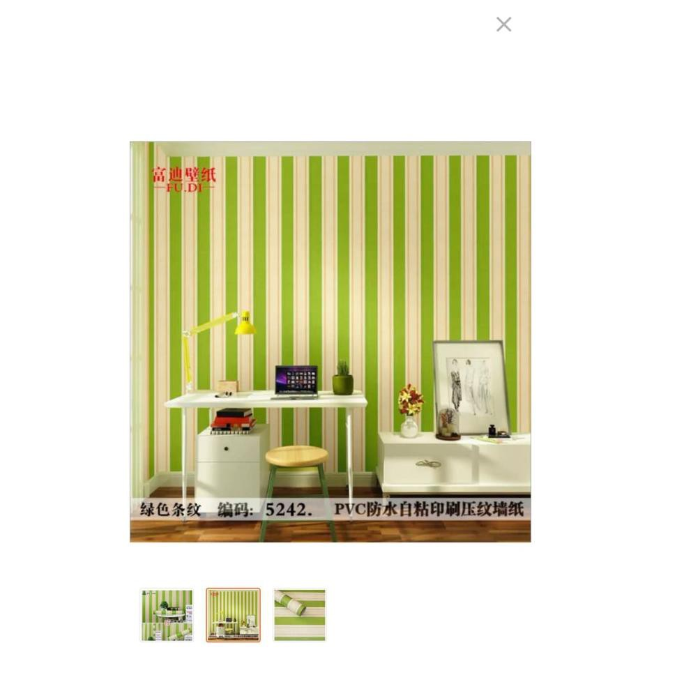 Terbaru❃ Sticker Wallpaper Premium PVC Walpaper Sticker Dinding Motif Nature Size 45cm X 10M Sal