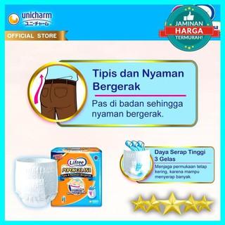 LIFREE POPOK DEWASA CELANA TIPIS & NYAMAN BERGERAK L 16 | Shopee Indonesia