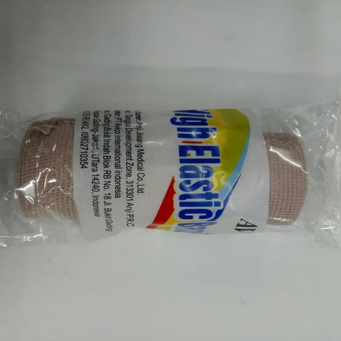 Elastic Bandage 4 inch - Perban elastis 10 cm x 4,5 m