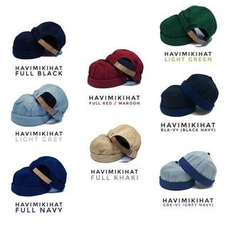 Ready bermutu peci kopiah gaul sholat shalat miki hat topi beanie cap hijrah - merah 125 K 37