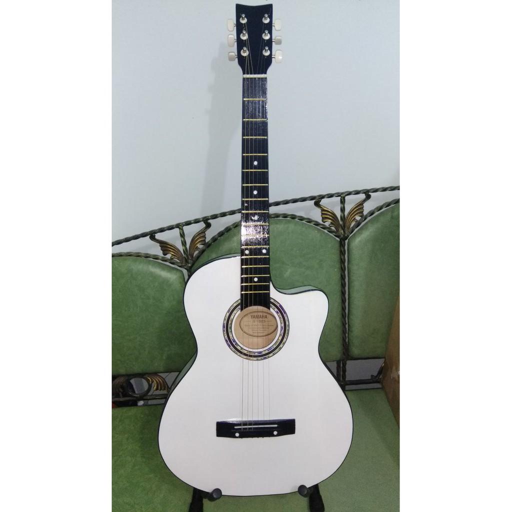 Gitar Akustik Yamaha Warna Putih Jakarta Murah | Shopee ...