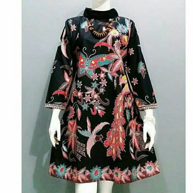Batik Couple Sarimbit Batik Atasan Seragam Guru Baju Kantor Modern | Shopee Indonesia