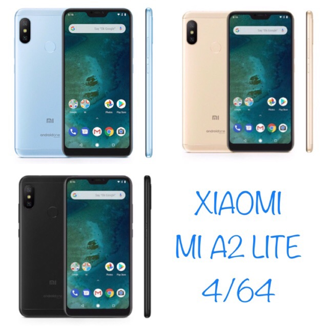 Original Xiaomi Mi A2 Lite 4 64gb Garansi 1 Tahun Distibutor