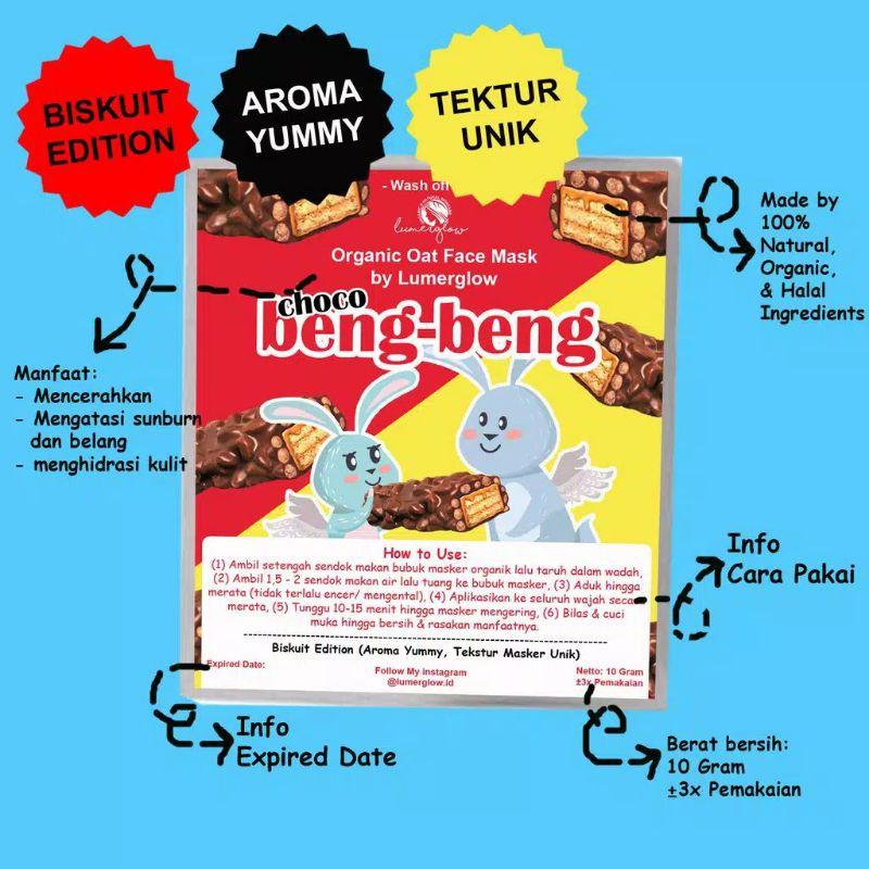 Masker Wajah Organik Oat Beng Beng Oreo Bear Brand Isi 10 Gram Shopee Indonesia