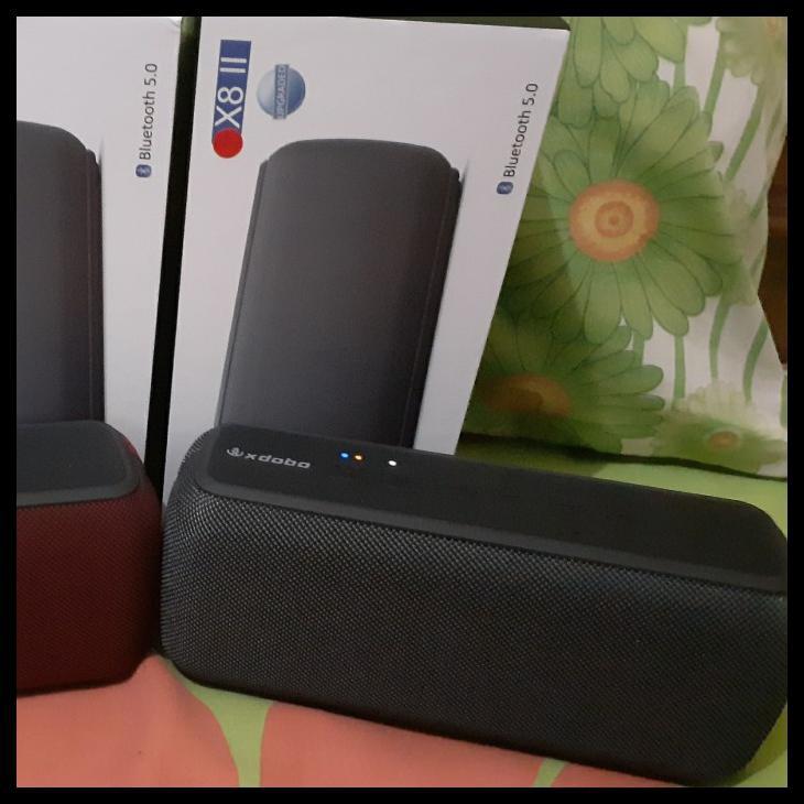 Xdobo X8 60W Upgrade Edition Extrabass Portable Bluetooth 5.0 Speaker - Hitam