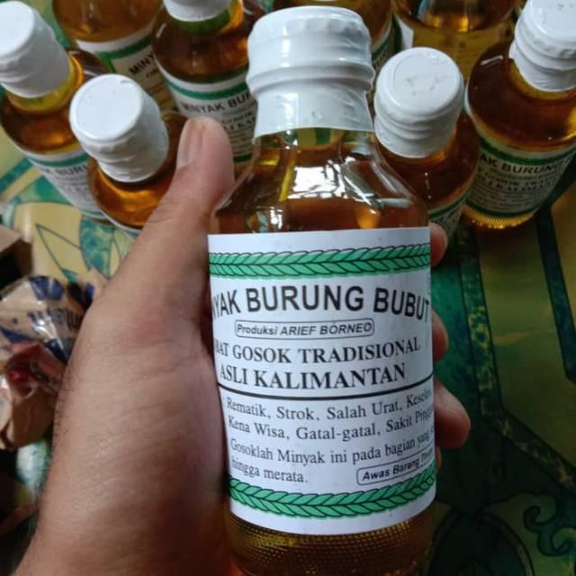 Minyak Burung Bubut Minyak Gosok Burung Bubut Mengobati Stroke Rematik Dll Isi 120 Ml Shopee Indonesia