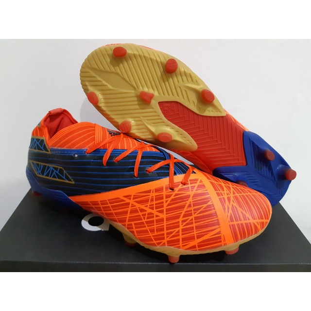 Sepatu Bola Soccer Adidas Nemeziz 19 1 Marvel Spider Man Fg
