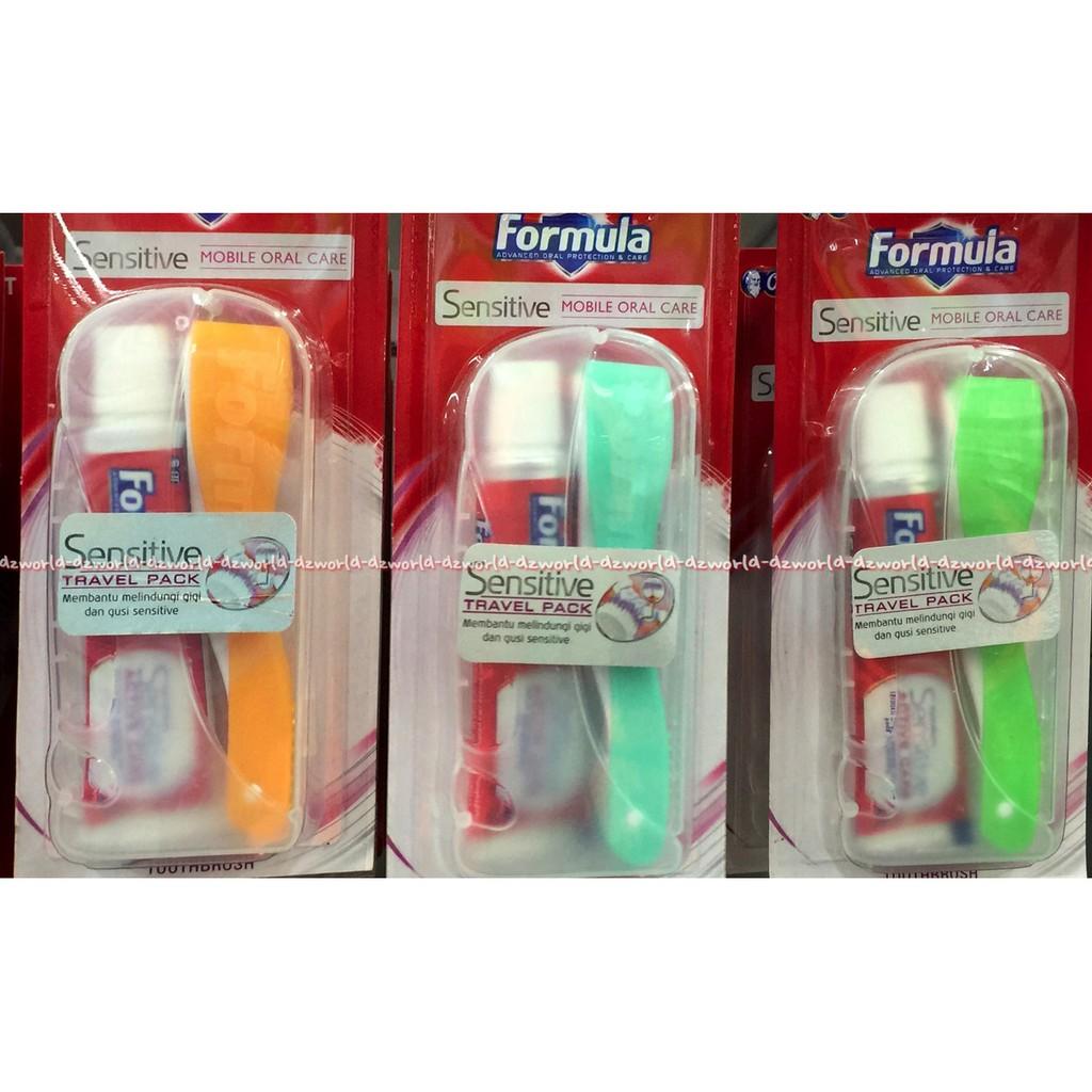 Formula Orthodontic Sikat Gigi Husus Untuk Pengguna Kawat For Silver Pro Trendy Toothbrush Behel Shopee Indonesia