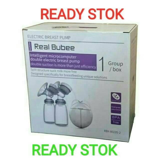 READY Real Bubee/miss baby Pompa ASI Elektrik penghisap/Breast Pump Elektrik gratis pompa silicone | Shopee Indonesia