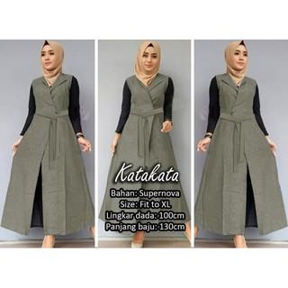 Outer Cardigan 2019 Cardigan Wanita Basicly Outer Muslim Baju