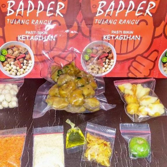 MEGA SALE Baso Aci BAPPER boci Premium & CILOKBA Cilok bapper baso aci Baper baper sambel mercon