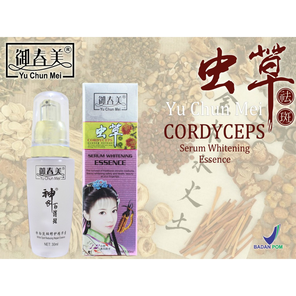 SABUN WAJAH CORDYSEPS / FACIAL HERBAL WHITENING FOAM / YU CHUN MEI | Shopee Indonesia