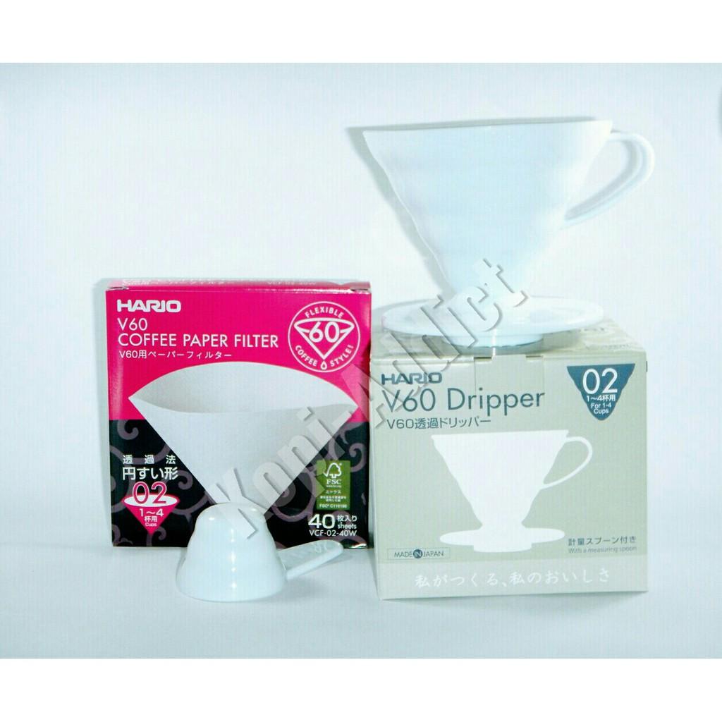 Terlaris Hario V60 Paper Filter Vcf 01 100m Terbatas Shopee Indonesia 02
