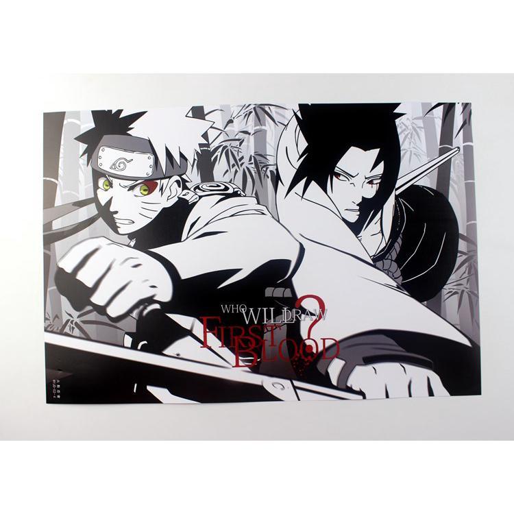 Naruto Naruto Uchiha Itachi timbul poster 8 anime Jepang ...